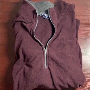Lands end fleece quarter zip